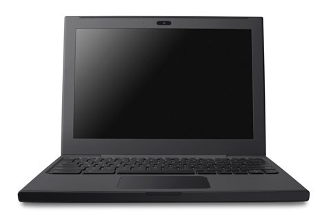 Cr-48 prototype Chromebook