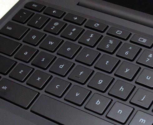 Cr-48 keyboard