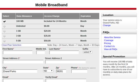 Cr-48 Verizon Sign-up