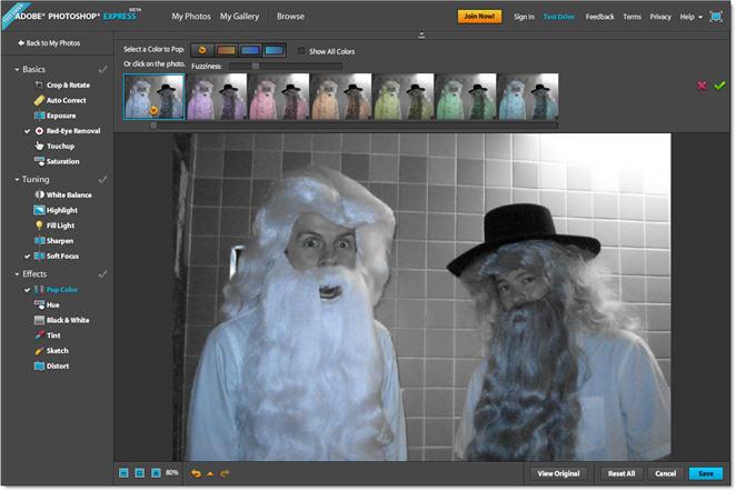 Photoshop Express Beta