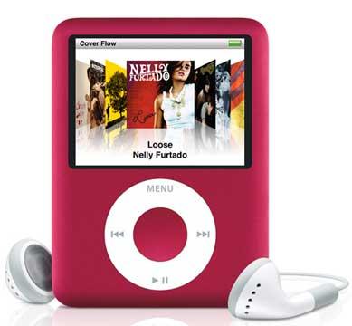 (red) iPod Nano