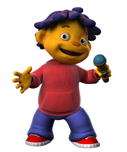 Photo of Sid from the PBS show Sid the Science Kid