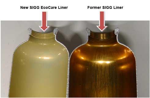SIGG liner comparision